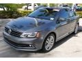 Volkswagen Jetta SEL Platinum Gray Metallic photo #4