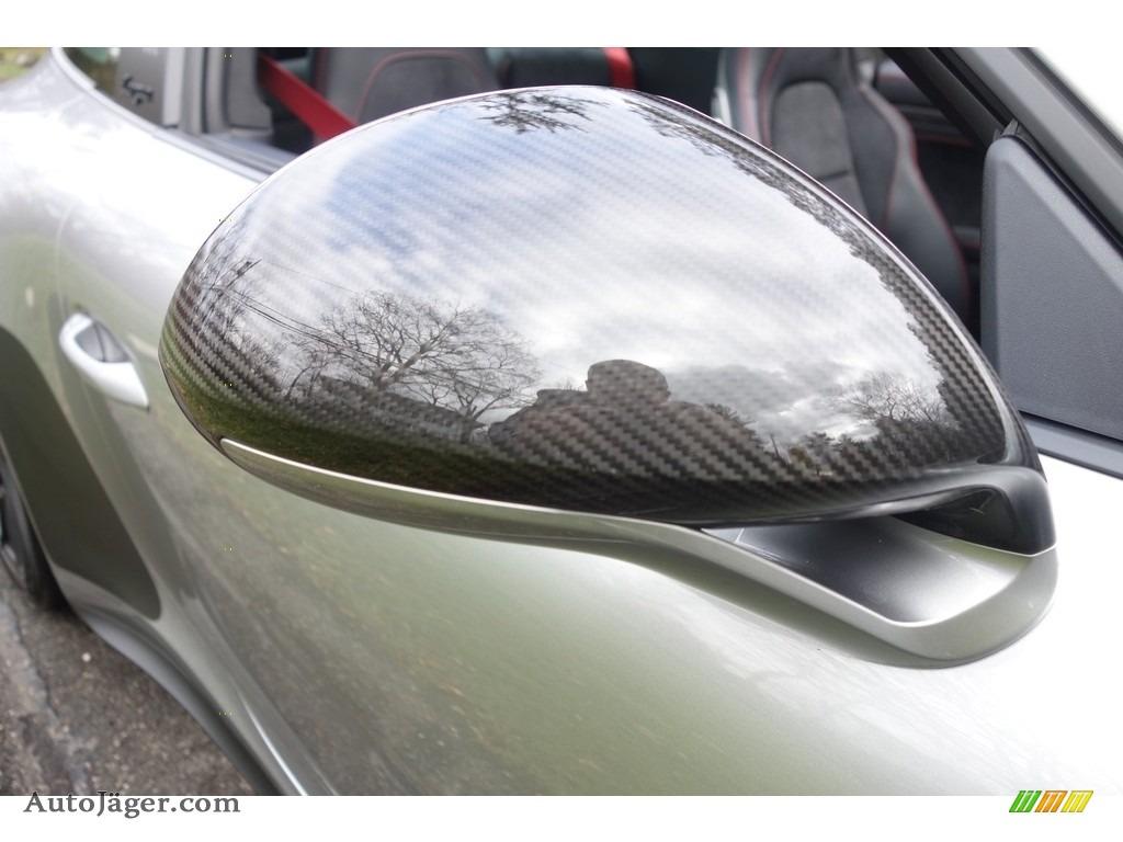 2017 911 Targa 4 GTS - GT Silver Metallic / Black photo #11