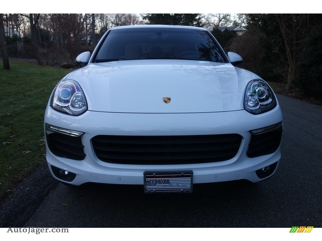 2015 Cayenne S - Carrara White Metallic / Luxor Beige photo #2