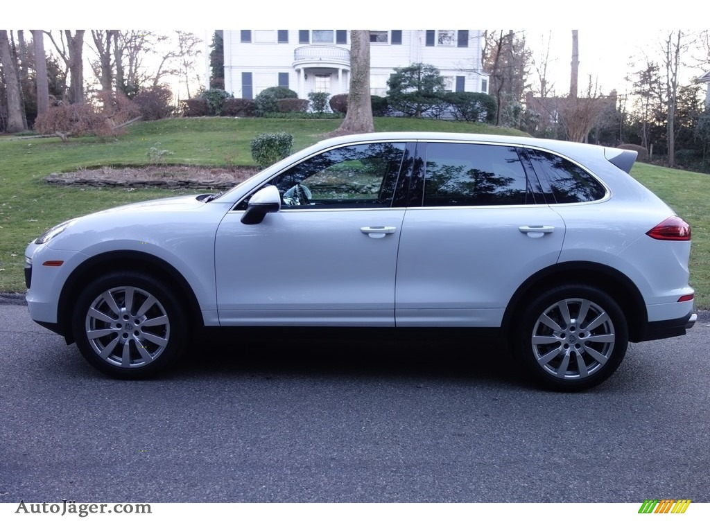 2015 Cayenne S - Carrara White Metallic / Luxor Beige photo #3