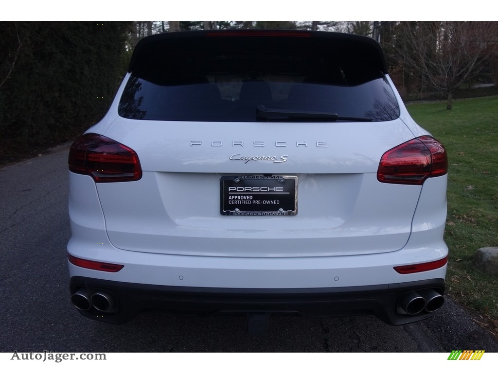 2015 Cayenne S - Carrara White Metallic / Luxor Beige photo #5