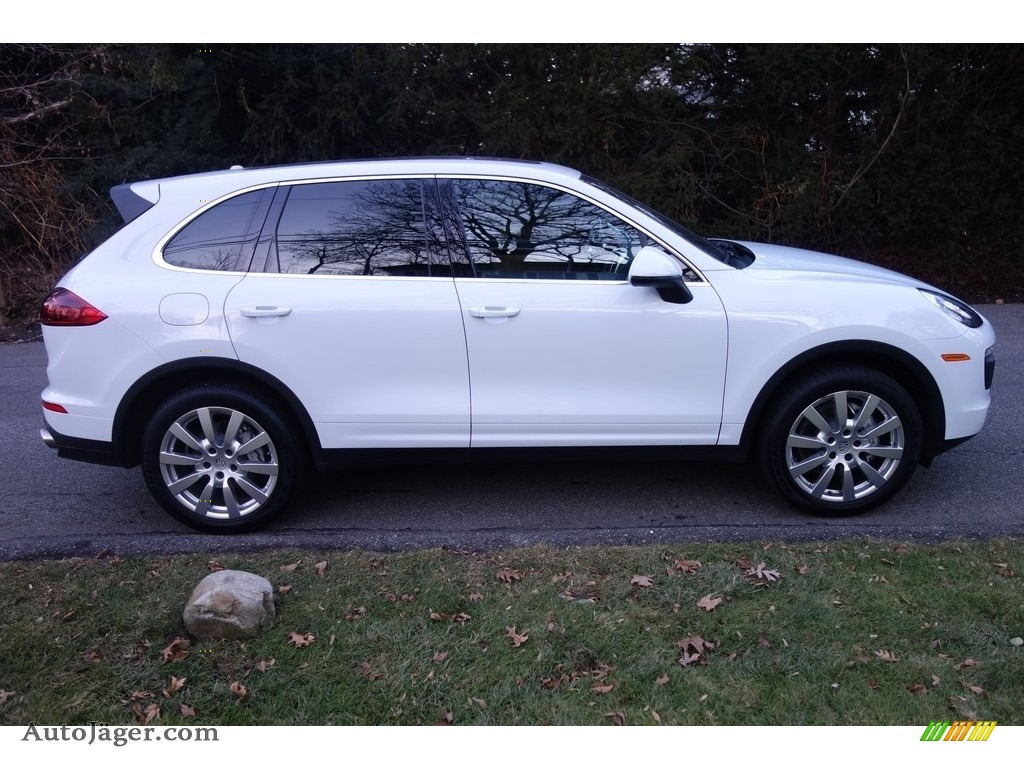 2015 Cayenne S - Carrara White Metallic / Luxor Beige photo #7