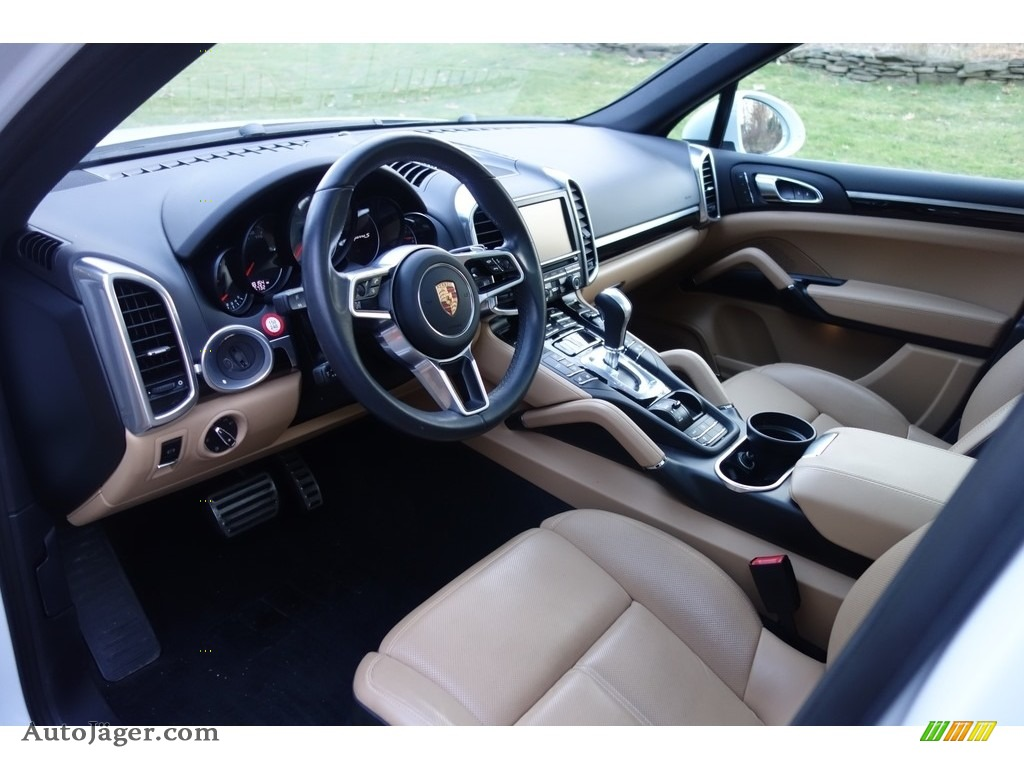 2015 Cayenne S - Carrara White Metallic / Luxor Beige photo #10