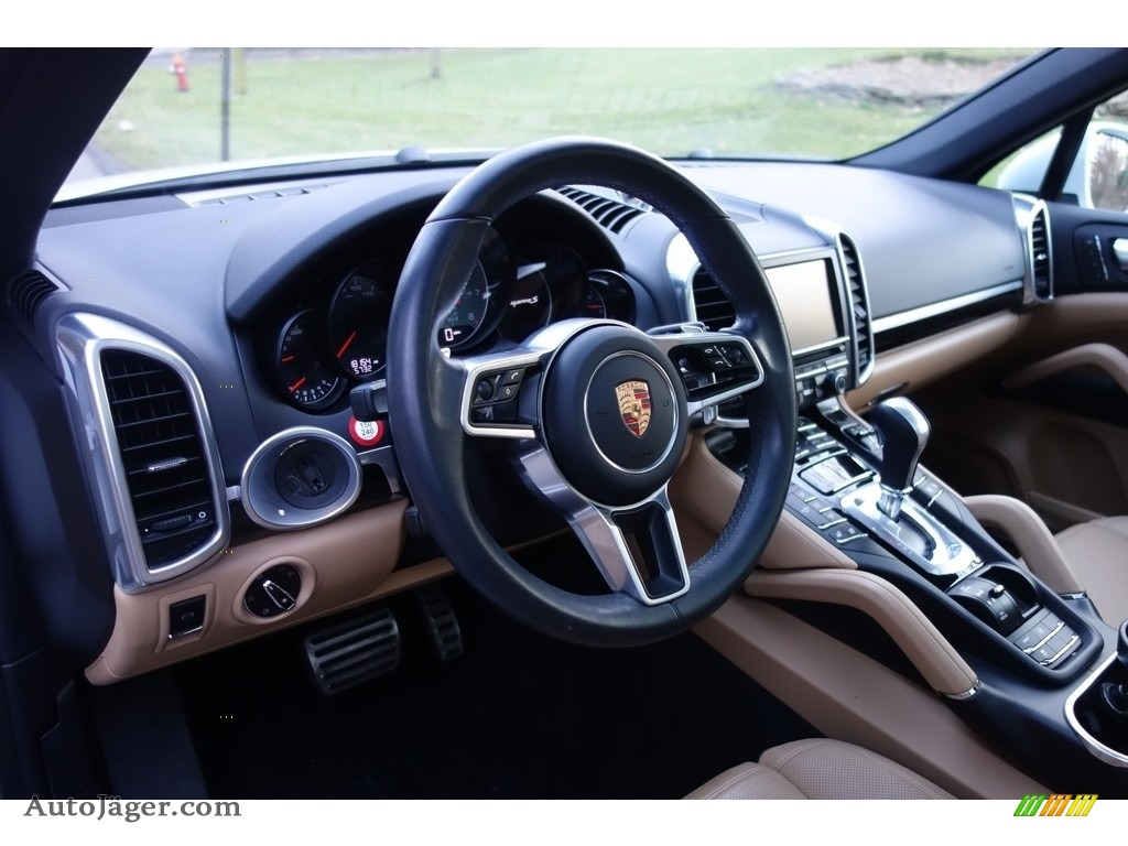 2015 Cayenne S - Carrara White Metallic / Luxor Beige photo #20