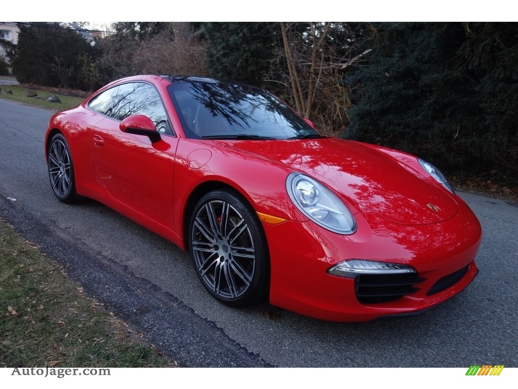 2016 911 Carrera S Coupe - Guards Red / Black/Luxor Beige photo #8