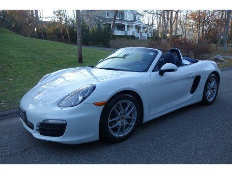 White 2015 Porsche Boxster