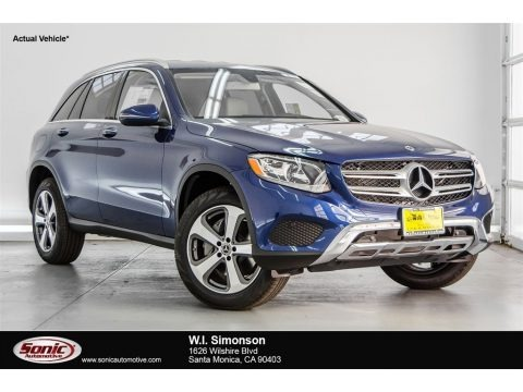 Brilliant Blue Metallic 2018 Mercedes-Benz GLC 300