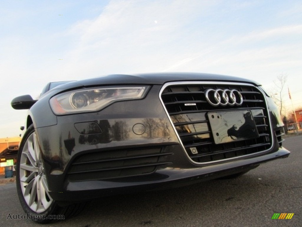2013 A6 3.0T quattro Sedan - Oolong Gray Metallic / Titanium Gray photo #1