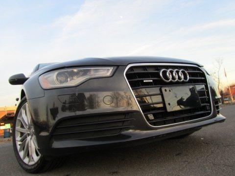 Oolong Gray Metallic 2013 Audi A6 3.0T quattro Sedan
