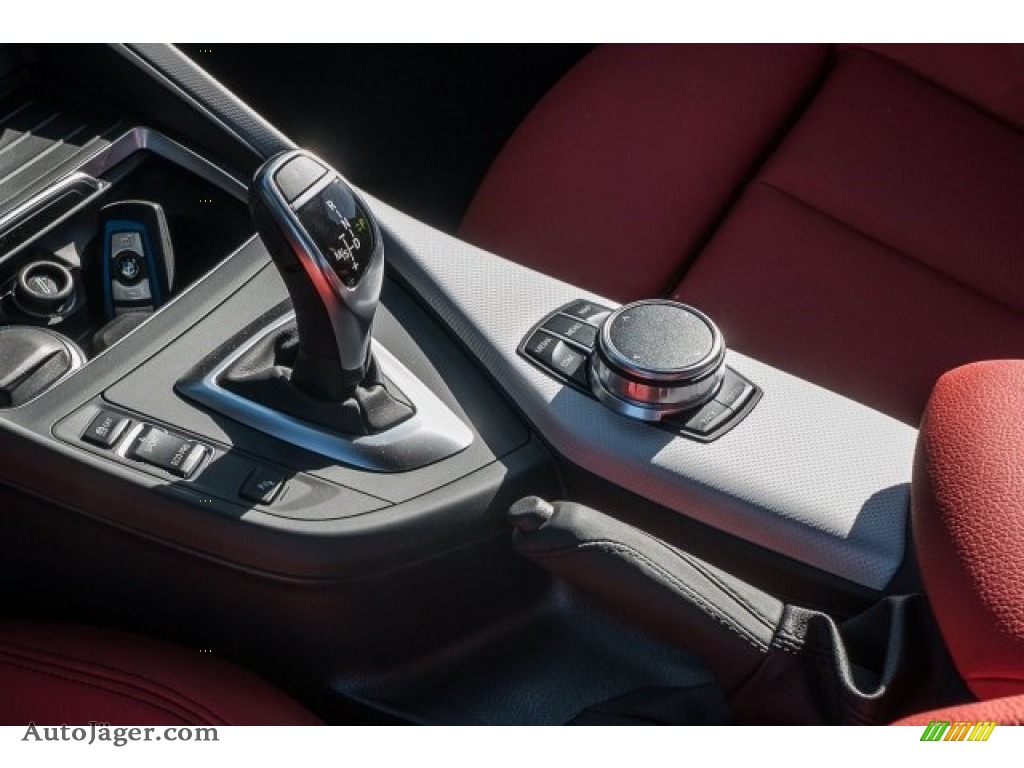 2018 2 Series M240i Coupe - Black Sapphire Metallic / Coral Red photo #2