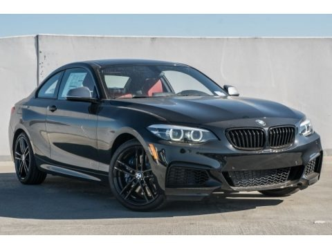 Black Sapphire Metallic 2018 BMW 2 Series M240i Coupe