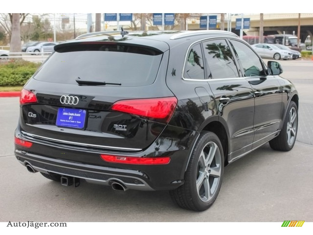 2017 Q5 3.0 TFSI Premium Plus quattro - Brilliant Black / Black photo #7