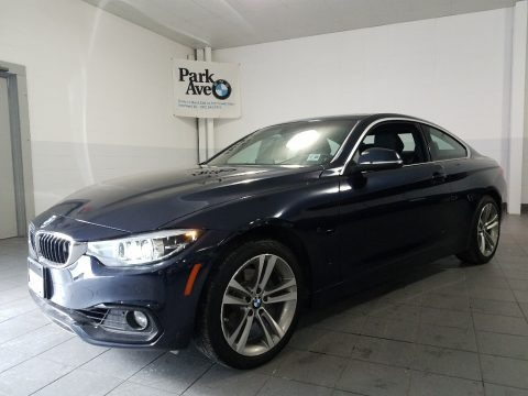 Imperial Blue Metallic 2018 BMW 4 Series 430i xDrive Coupe