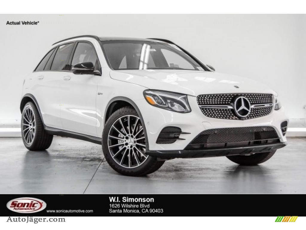 2018 GLC AMG 43 4Matic - Polar White / Black photo #1