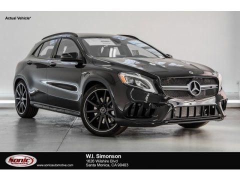 Cosmos Black Metallic 2018 Mercedes-Benz GLA AMG 45 4Matic