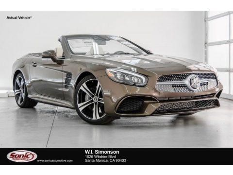 Dolomite Brown Metallic 2018 Mercedes-Benz SL 450 Roadster