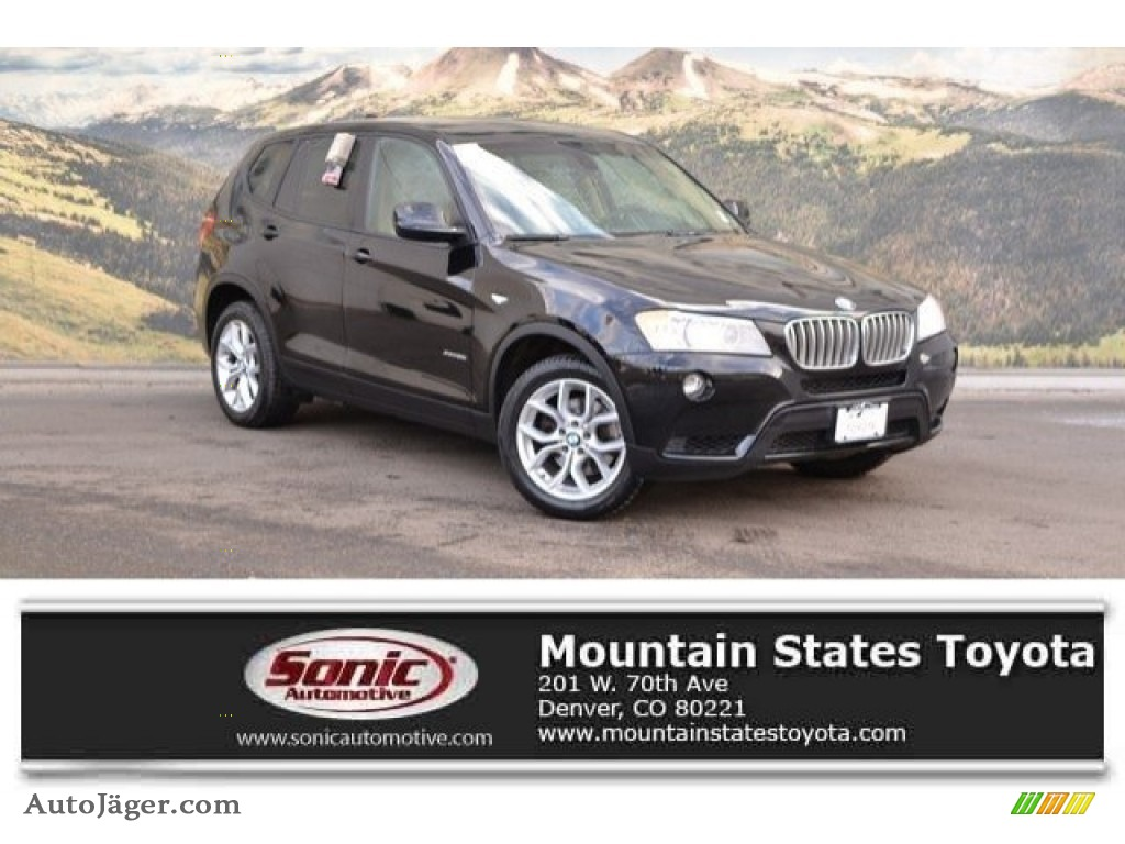 Jet Black / Sand Beige Nevada Leather BMW X3 xDrive 35i