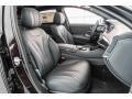 Mercedes-Benz S 450 Sedan Ruby Black Metallic photo #2