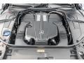 Mercedes-Benz S 450 Sedan Ruby Black Metallic photo #8