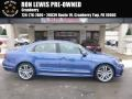 Volkswagen Passat R-Line Sedan Reef Blue Metallic photo #1
