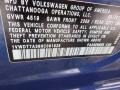 Volkswagen Passat R-Line Sedan Reef Blue Metallic photo #15