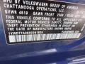 Volkswagen Passat R-Line Sedan Reef Blue Metallic photo #15