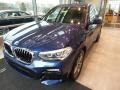 BMW X3 xDrive30i Phytonic Blue Metallic photo #3