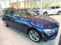 BMW 3 Series 330i xDrive Sports Wagon Mediterranean Blue Metallic photo #1