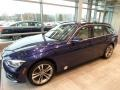 BMW 3 Series 330i xDrive Sports Wagon Mediterranean Blue Metallic photo #3