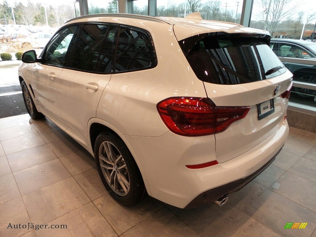 2018 X3 xDrive30i - Alpine White / Black photo #2