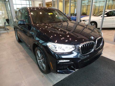 Carbon Black Metallic 2018 BMW X3 xDrive30i