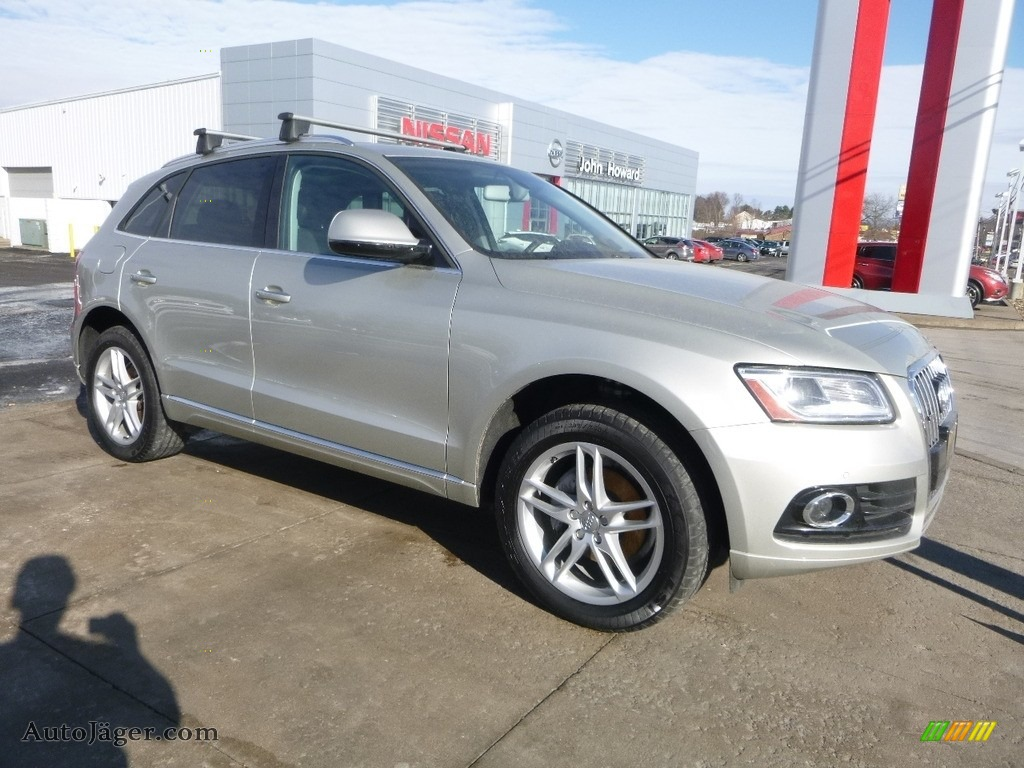 2017 Q5 2.0 TFSI Premium quattro - Cuvee Silver Metallic / Black photo #1