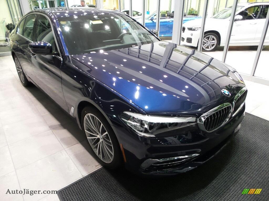 2018 5 Series 540i xDrive Sedan - Imperial Blue Metallic / Black photo #1