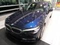 BMW 5 Series 540i xDrive Sedan Imperial Blue Metallic photo #3