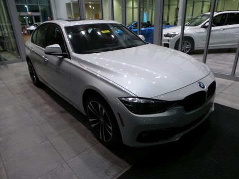 Mineral White Metallic 2018 BMW 3 Series 330i xDrive Sedan
