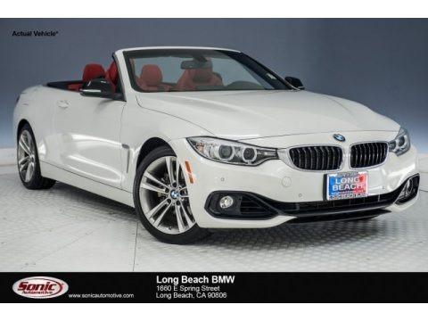 Mineral Grey Metallic 2015 BMW 4 Series 428i Convertible