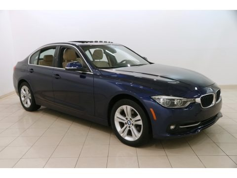 Mediterranean Blue Metallic 2017 BMW 3 Series 330i xDrive Sedan