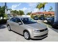 Volkswagen Jetta SE Sedan Moonrock Silver Metallic photo #1