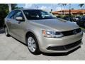 Volkswagen Jetta SE Sedan Moonrock Silver Metallic photo #2