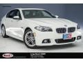 BMW 5 Series 528i Sedan Alpine White photo #1