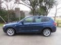 BMW X3 xDrive 35i Deep Sea Blue Metallic photo #11