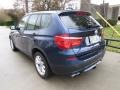BMW X3 xDrive 35i Deep Sea Blue Metallic photo #12