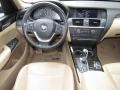 BMW X3 xDrive 35i Deep Sea Blue Metallic photo #13