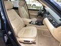 BMW X3 xDrive 35i Deep Sea Blue Metallic photo #17
