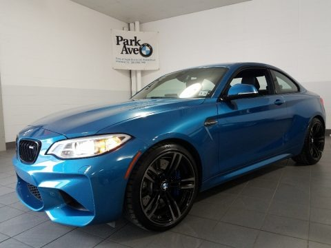 Long Beach Blue Metallic 2017 BMW M2 Coupe