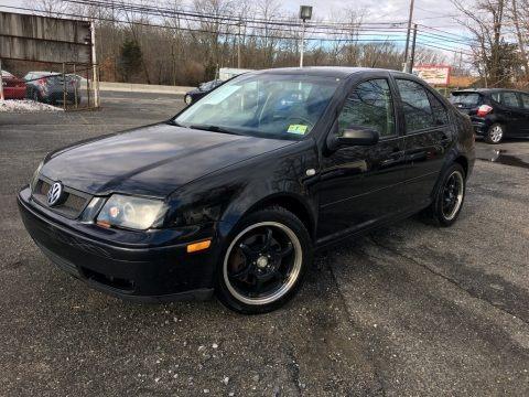 Black 2001 Volkswagen Jetta GLX VR6 Sedan