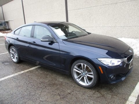 Imperial Blue Metallic 2015 BMW 4 Series 428i xDrive Gran Coupe