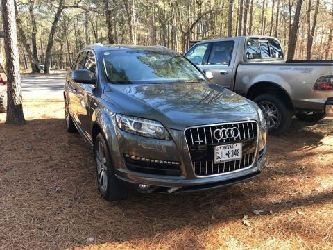 Graphite Gray Metallic 2015 Audi Q7 3.0 Premium Plus quattro