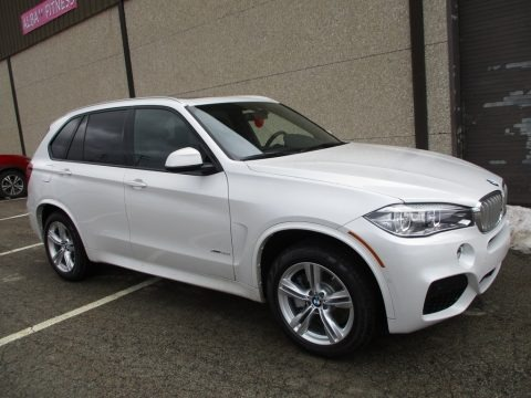 Mineral White Metallic 2018 BMW X5 xDrive50i
