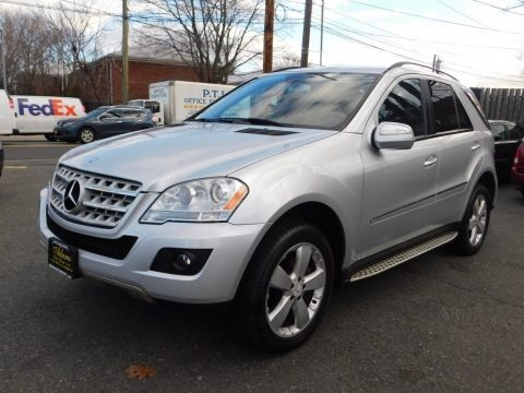 Iridium Silver Metallic 2009 Mercedes-Benz ML 350 4Matic
